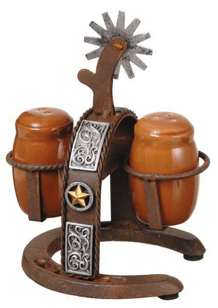 Spur Holder Salt & Pepper Set