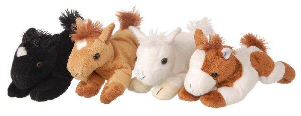 Gift Corral Plush Horse With Sound 7'' ASSt