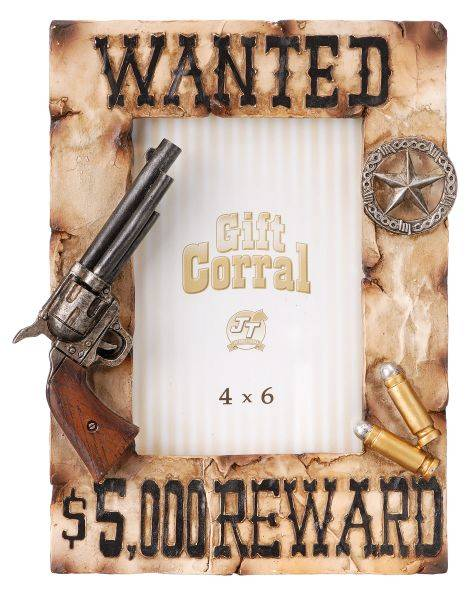 Gift Corral Wanted Picture Frame