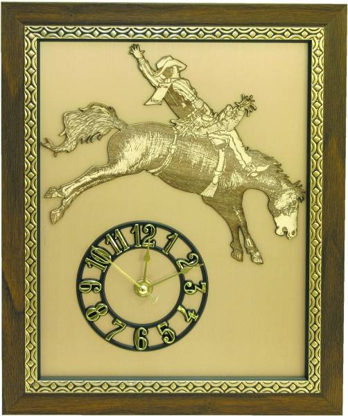 Western Rodeo Clock
