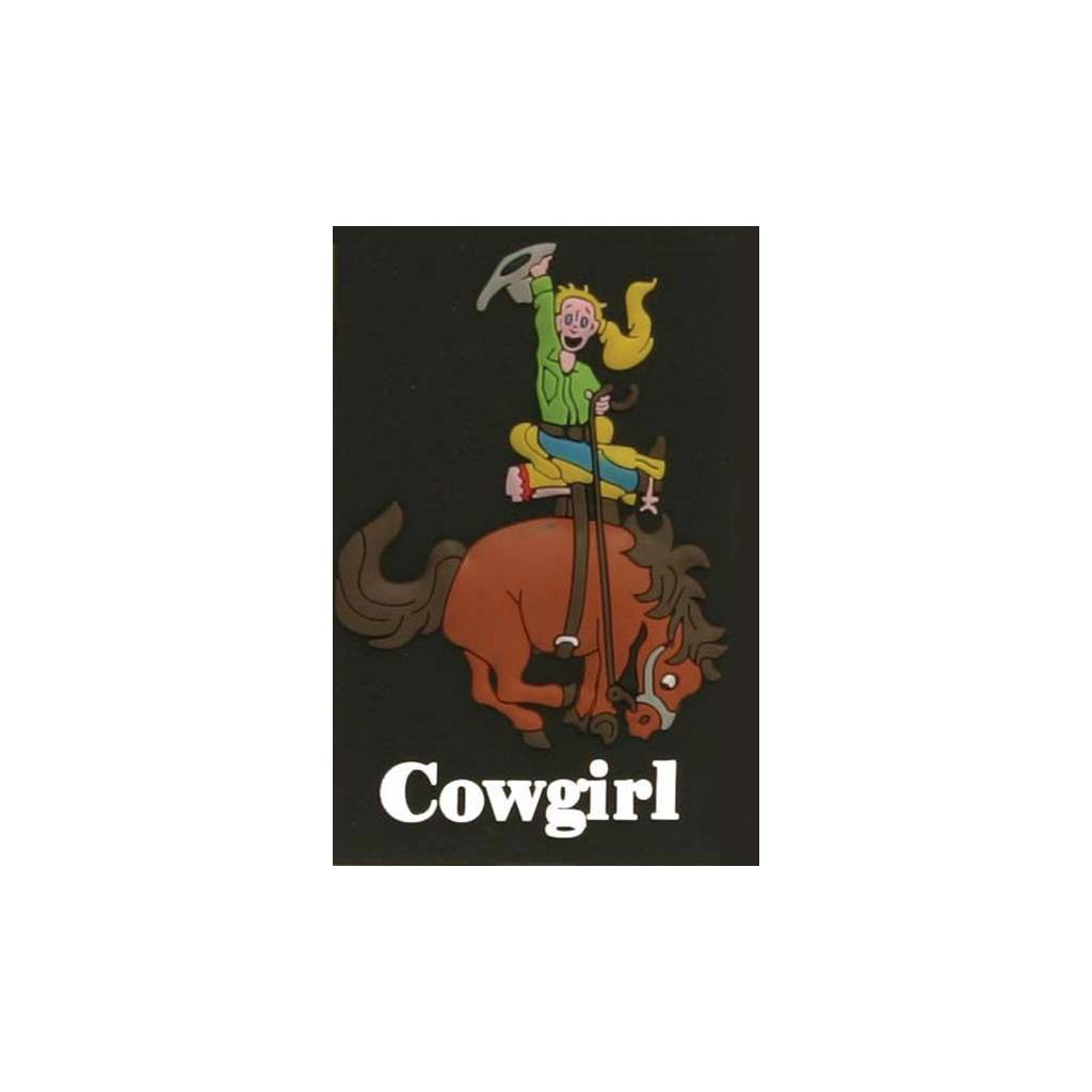 Cowgirl Refrigerator Magnet
