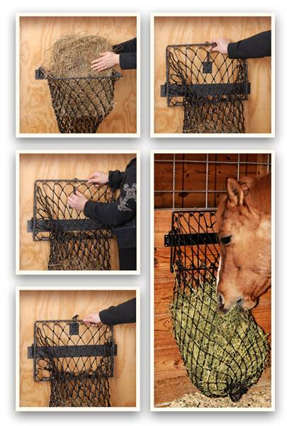 Tough-1 Hay Hoops Collapsible Wall Hay Feeder