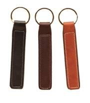 TORY LEATHER Plain Key Fob