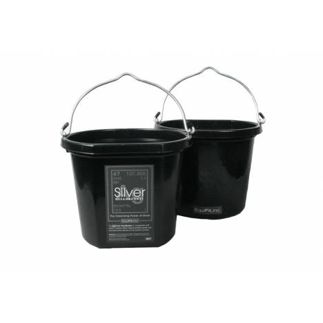 EquiFit AgSilver Cleanbucket by Agion - Ionic Silver-Infused Bucket
