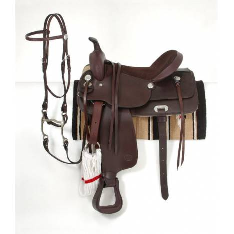 King Series Pleasure Trail Saddle Package
