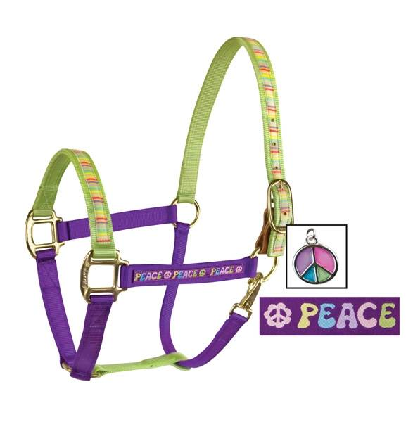 Perri's Color Duo Ribbon Nylon Halter