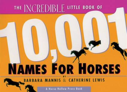 10,001 Names For Horses