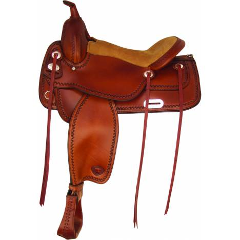 Tex Tan Salem Flex Trail Saddle