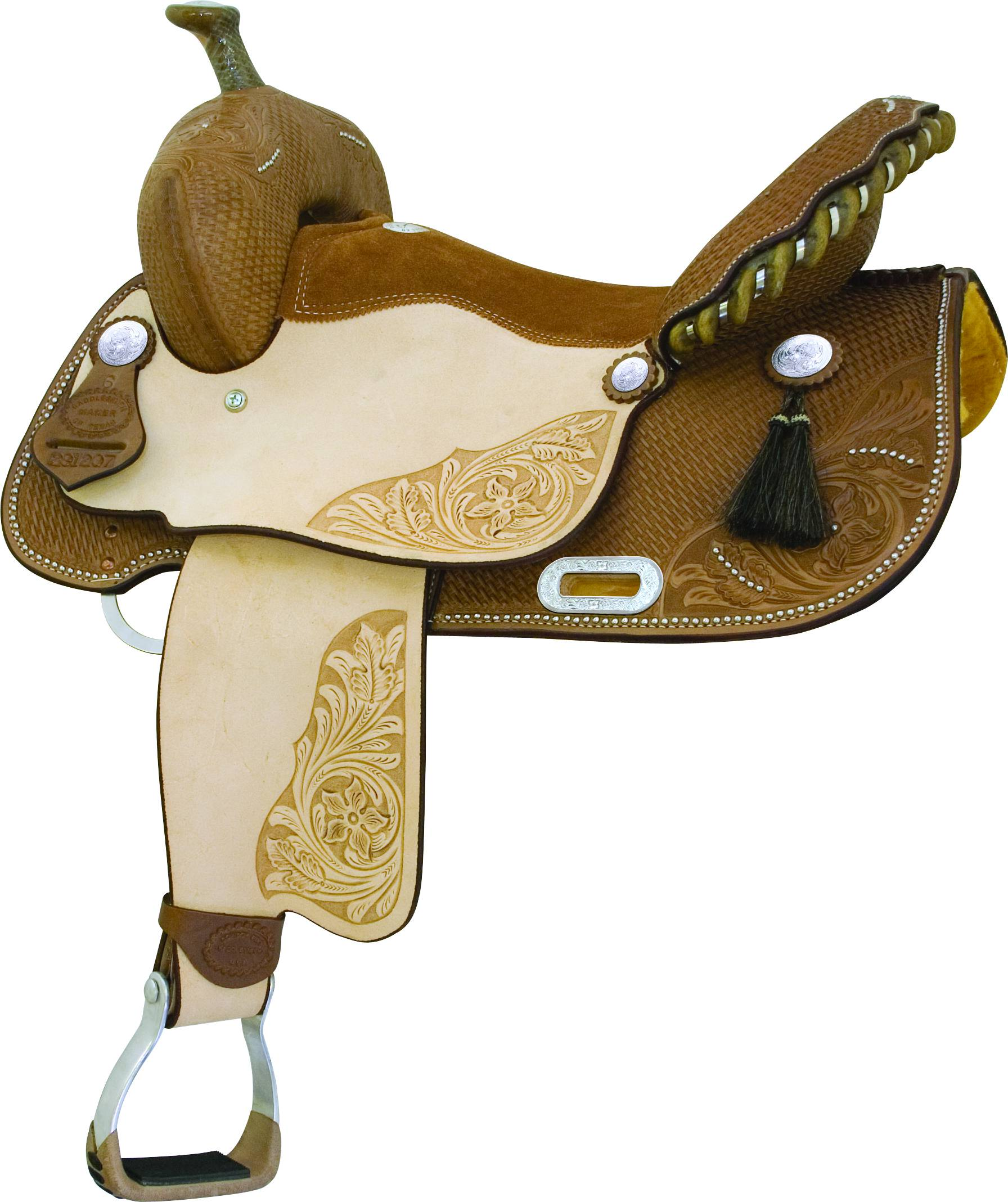 Billy Cook Saddlery Runnin Tres Aces Barrel