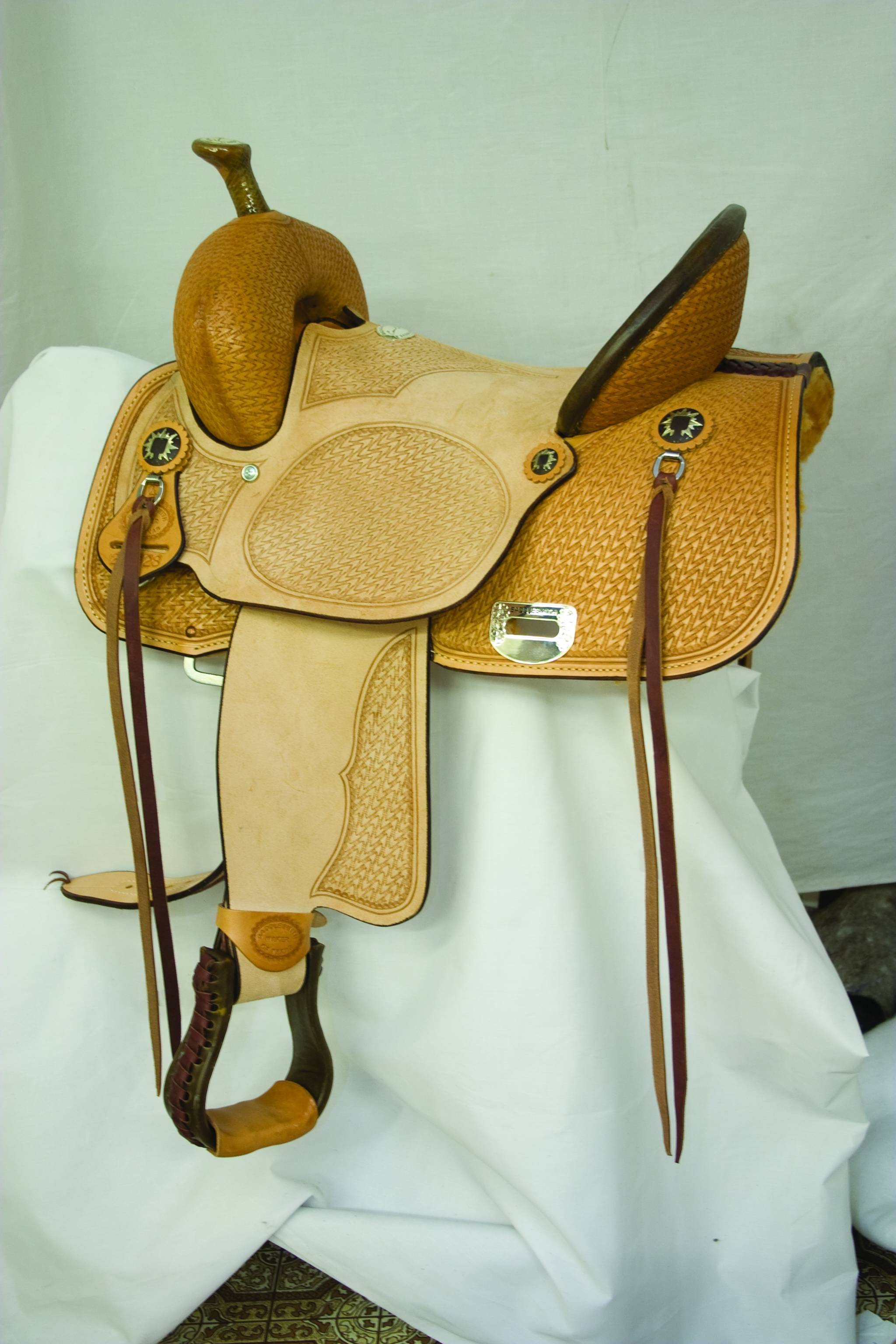 Billy Cook Saddlery Comanche Highback