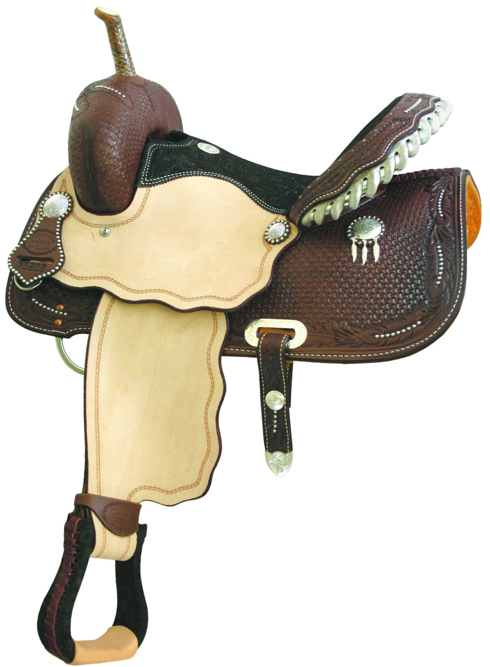 Billy Cook Saddlery Spotted Feather Iii