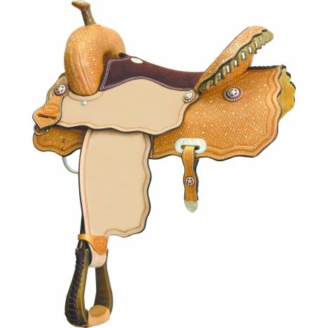 Billy Cook Saddlery Wave Texas Way Racer