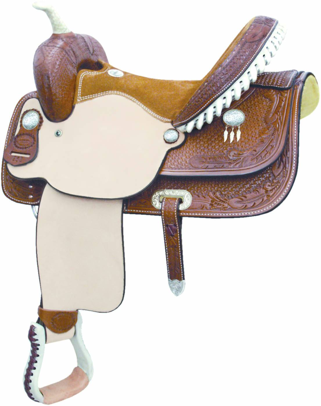 Billy Cook Saddlery Flex Feather Racer