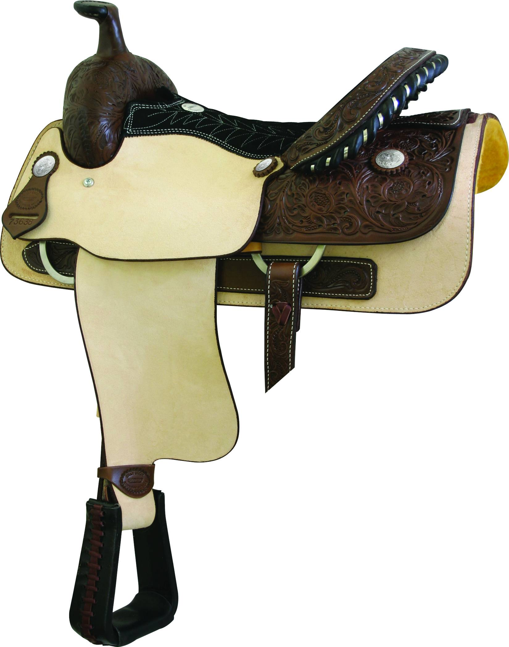 Billy Cook Saddlery Weatherford Roughout Roper