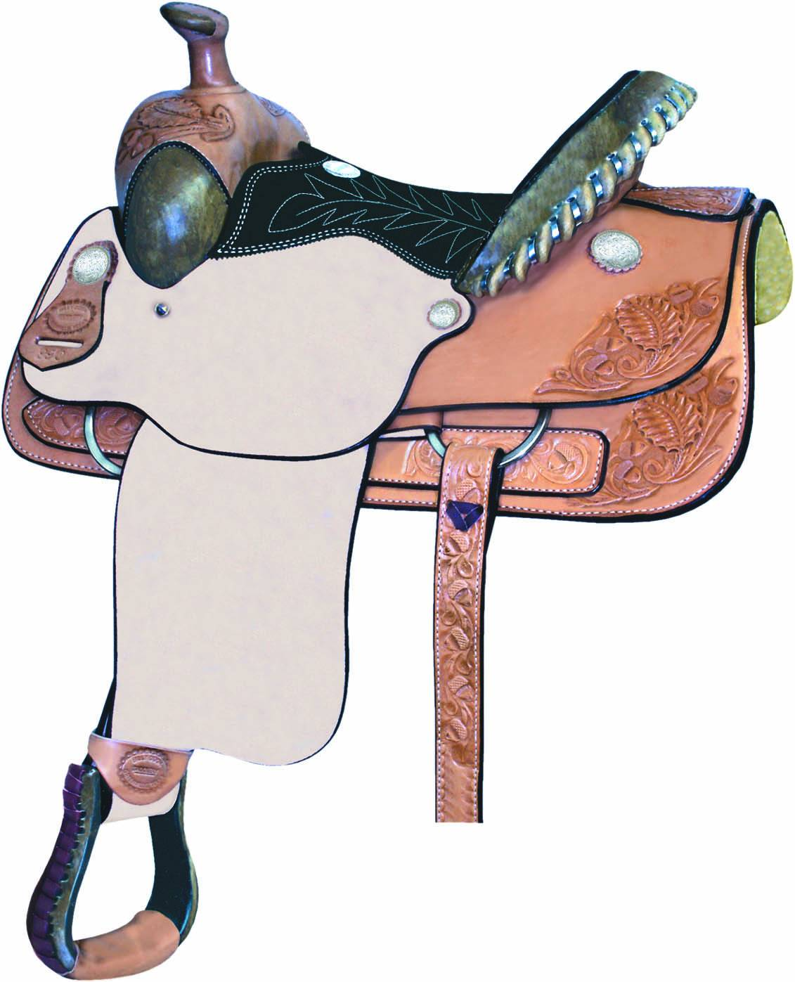 Billy Cook Saddlery Stockyard Youth Roper