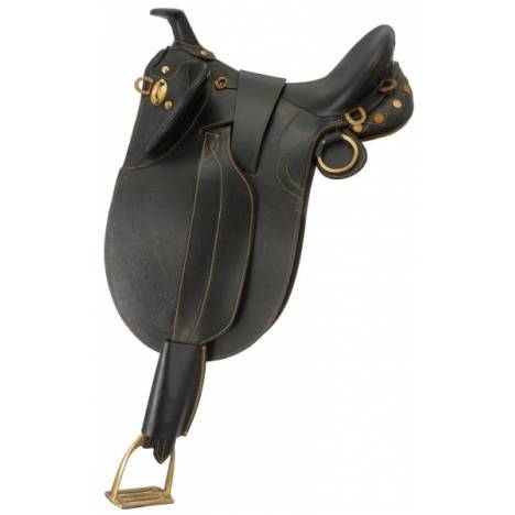Australian Outrider Collection Stock Poley Saddle with Horn