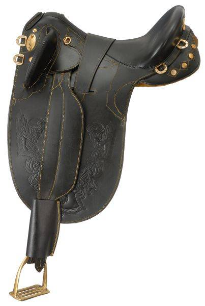Australian Outrider Collection Australian Outrider Collection Stock Poley Saddle with o Horn