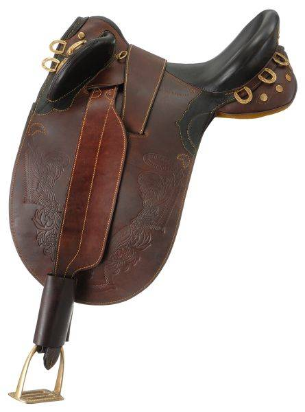 Australian Outrider Collection Stockman Bush Rider With O Horn
