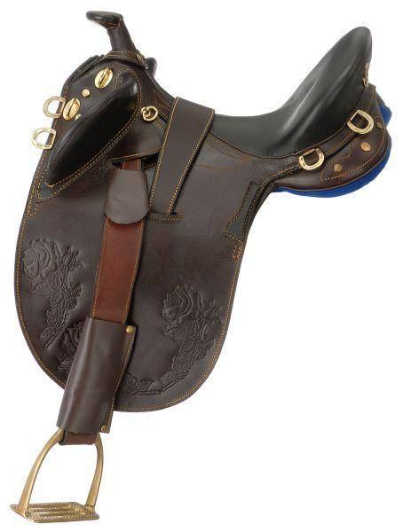 Australian Outrider Collection Youth Stockman Bush Rider With Horn