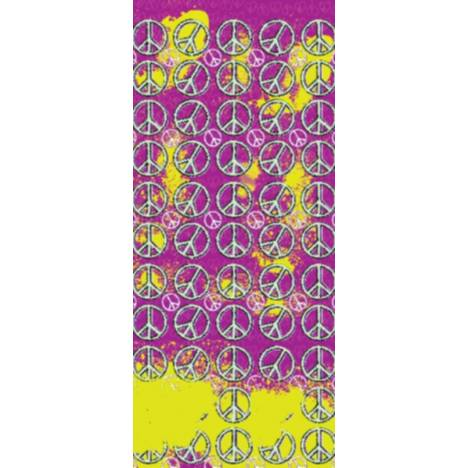 Equestrian Couture Knee-High Boot Socks - Peace Signs