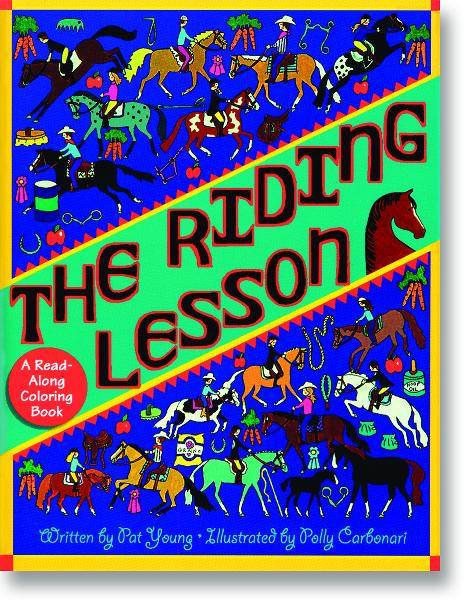 The Riding Lesson Coloring Book