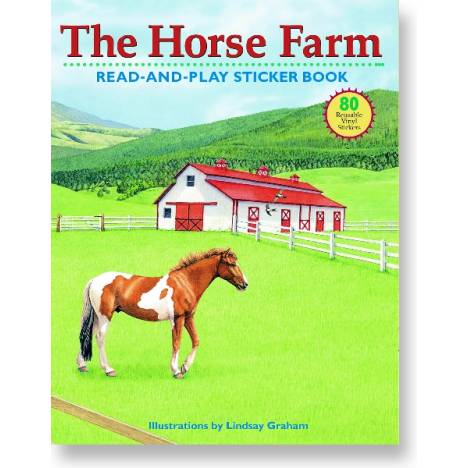 The Horse Farm Sticker Book