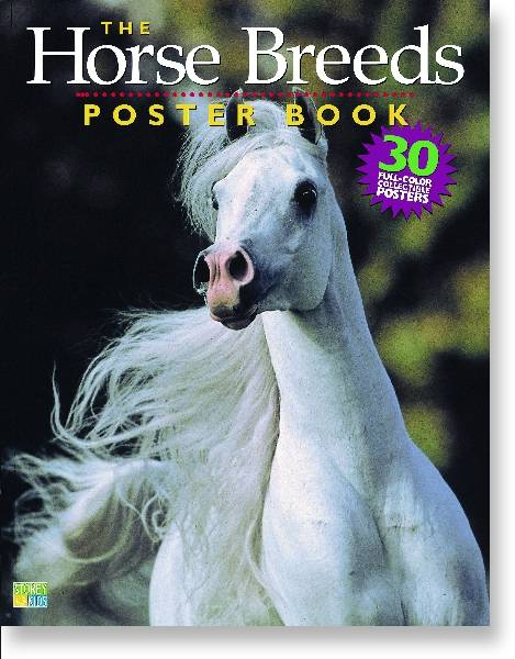 Horse Breeds Poster Book