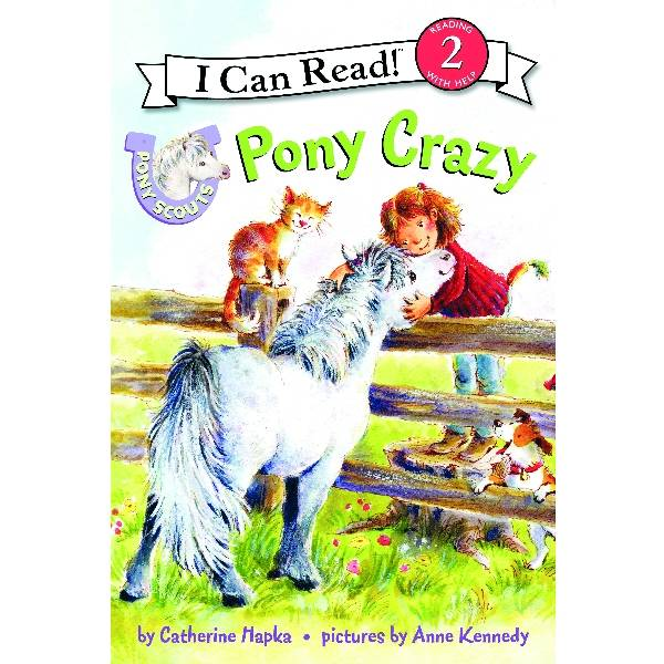Pony Scout Kids Book - Pony Crazy
