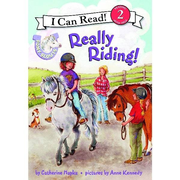 Pony Scout Kids Book - Really Riding!