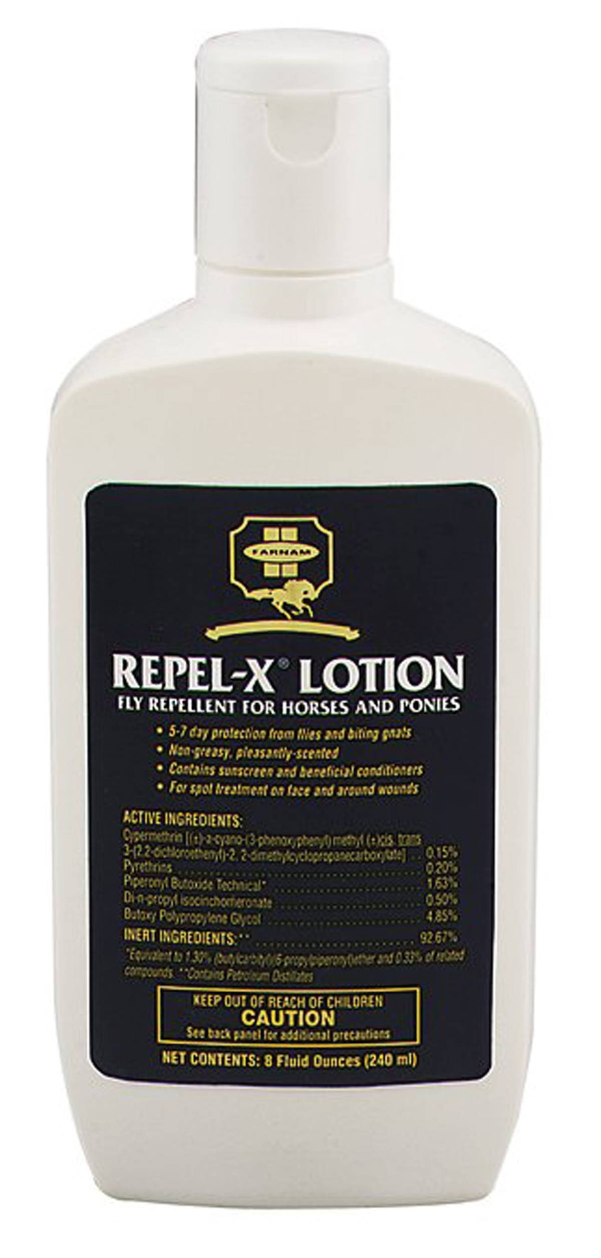 Farnam Repel-X Lotion Fly Repellent