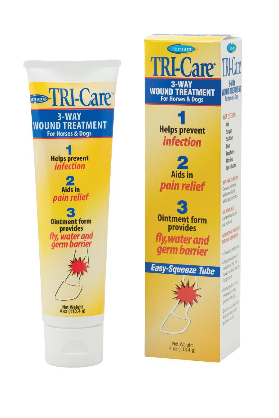 Farnam TRI-Care Triple Action Wound Treatment