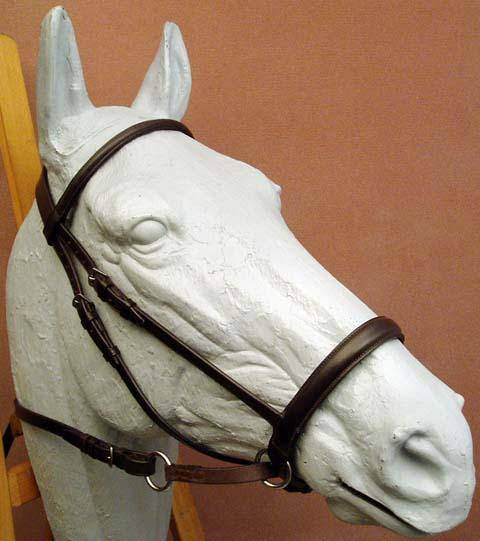 Dr. Robert Cook Bitless Bridle Leather Headstall