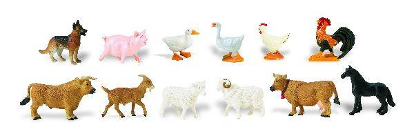Safari Horses Toobs - Farm Animals