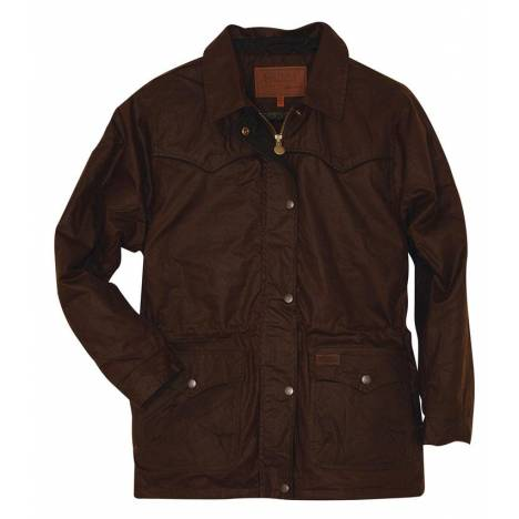 Outback Ladies Oilskin Roundup Jacket