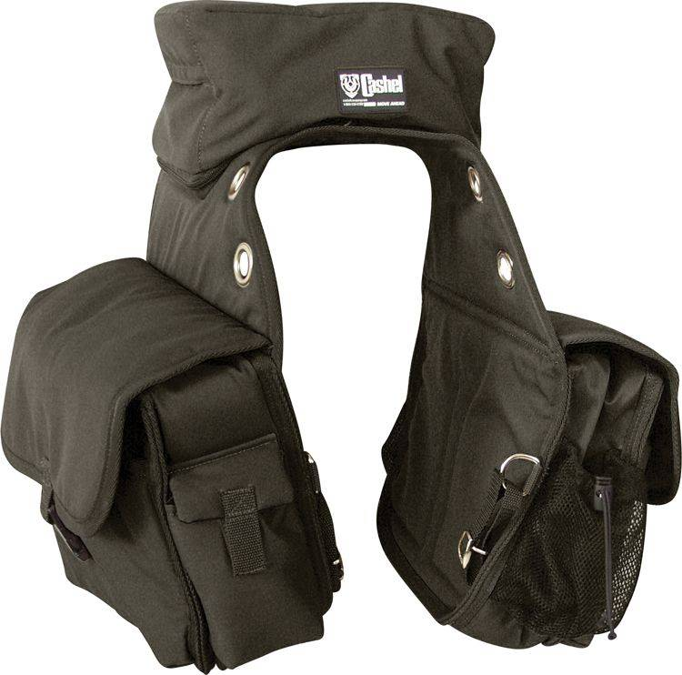 Cashel Deluxe Plus Cantle Saddle Bags