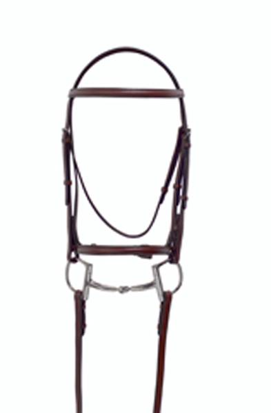 Millstone Plain Raised Bridle