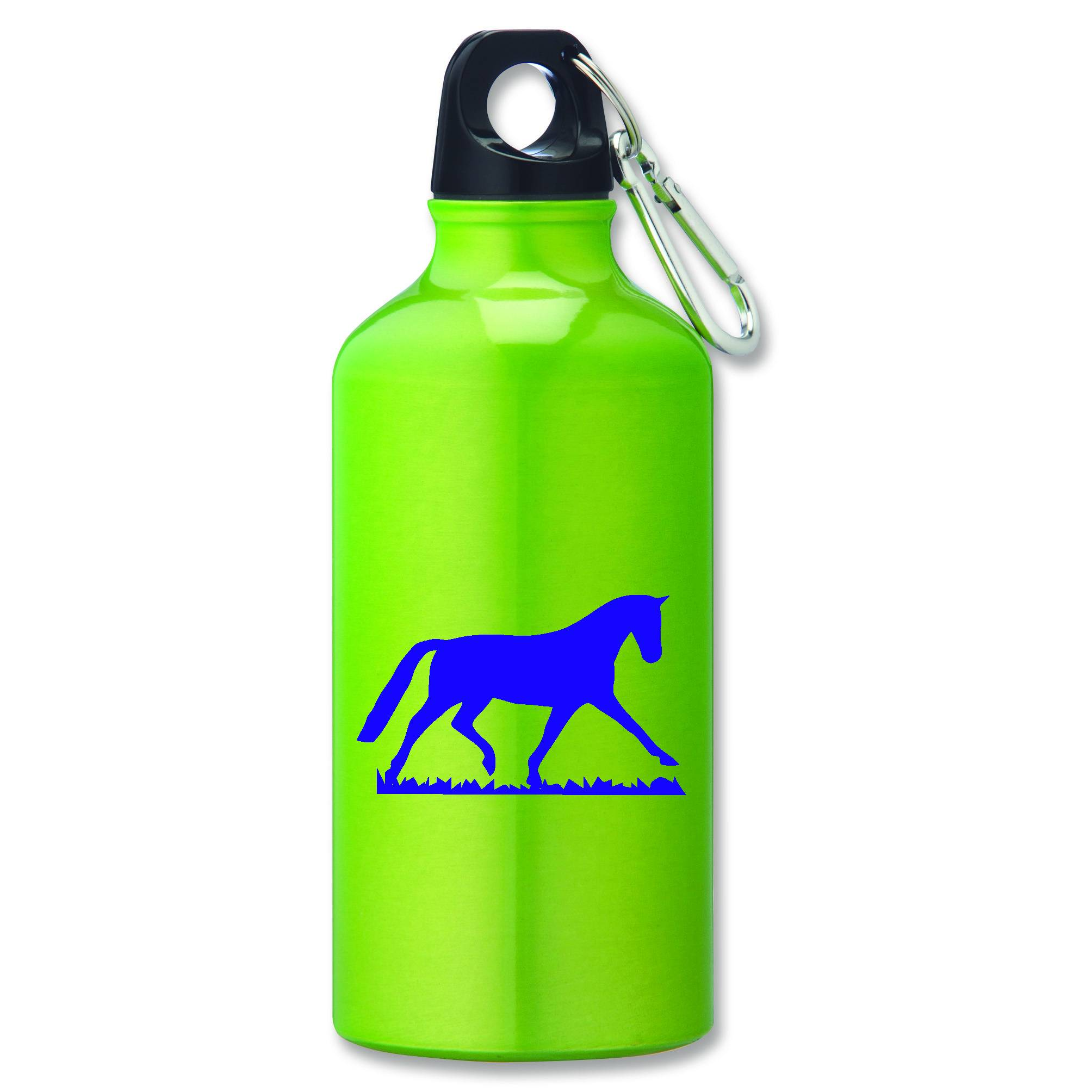 Trotting Horse Aluminum Sports Bottle