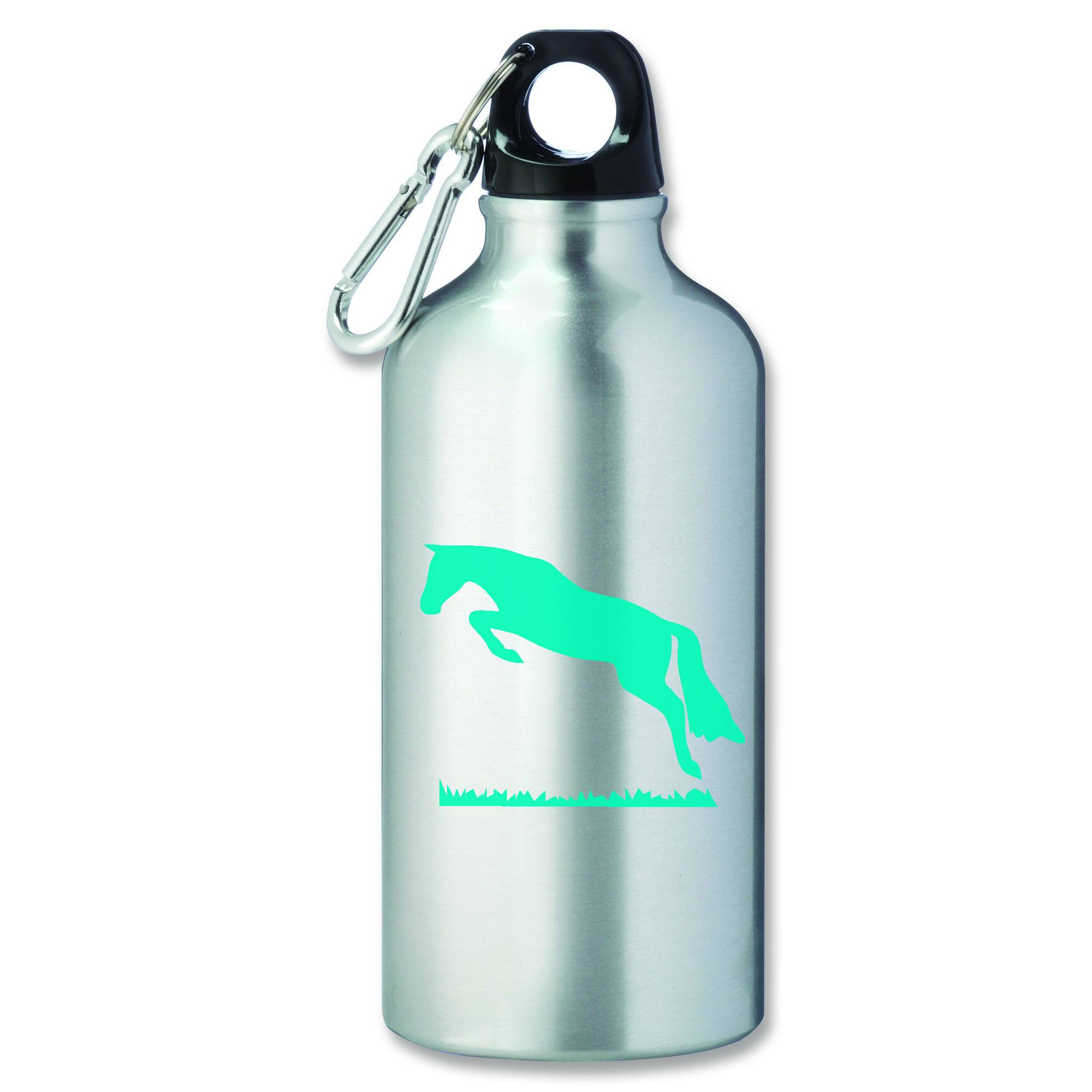 Jumping Horse Aluminum Sports Bottle