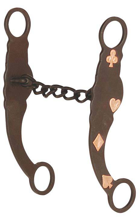 Direct Equine Antique with Copper Gambler Chain