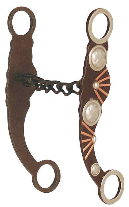 Direct Equine Chain Mouth Silver & Copper Bars