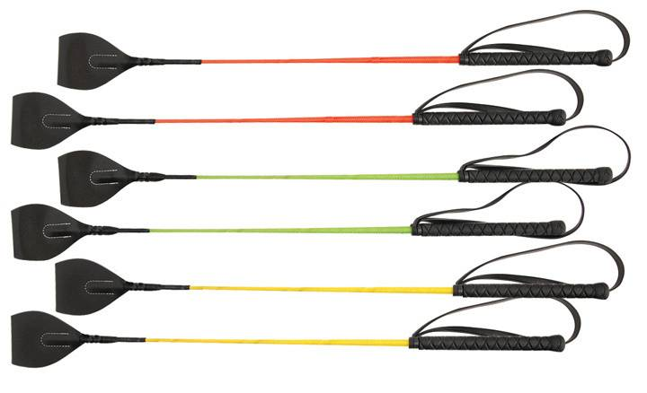 Direct Equine Riding Crop with Hand Loop - 6-Pack