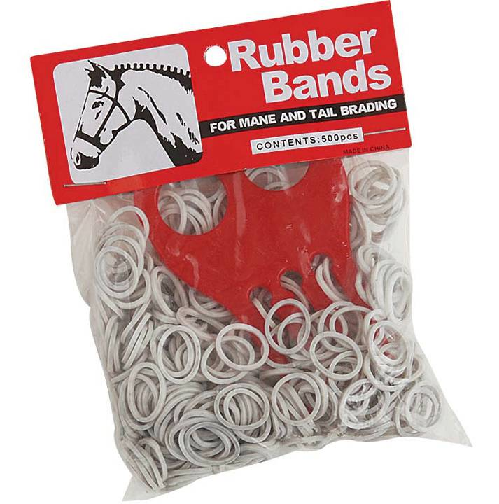 Direct Equine Braid Bands with Comb
