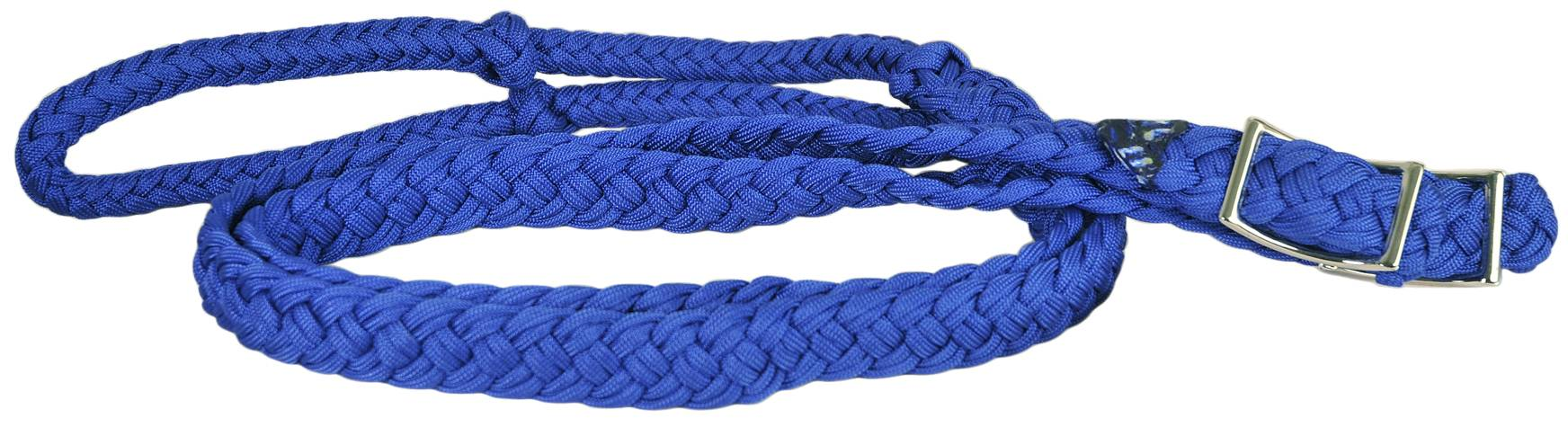 Direct Equine Braid Poly Barrel Rein
