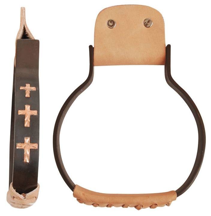 Direct Equine Metal Oxbow with Cross