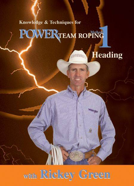 EquiMedia Rickey Green: Method 1-Power Team Roping DVD