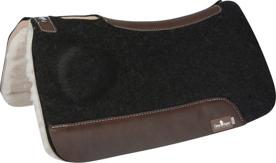 Classic Equine BioFit Fleece Bottom Western Saddle Pad