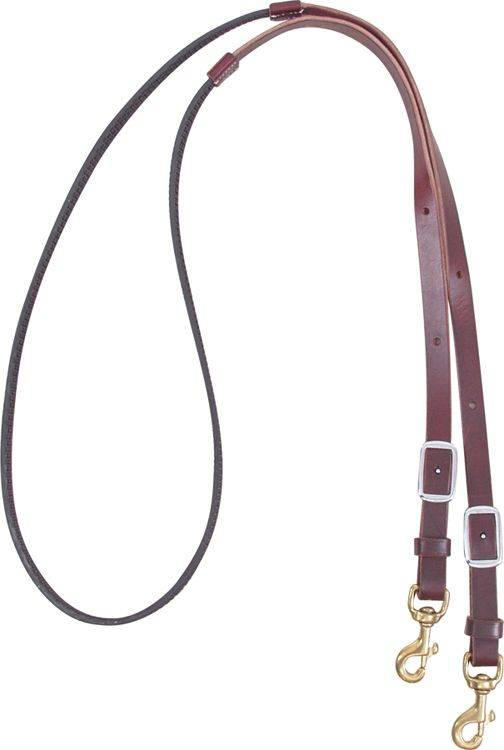 Martin Saddlery Biothane Leather Barrel Rein