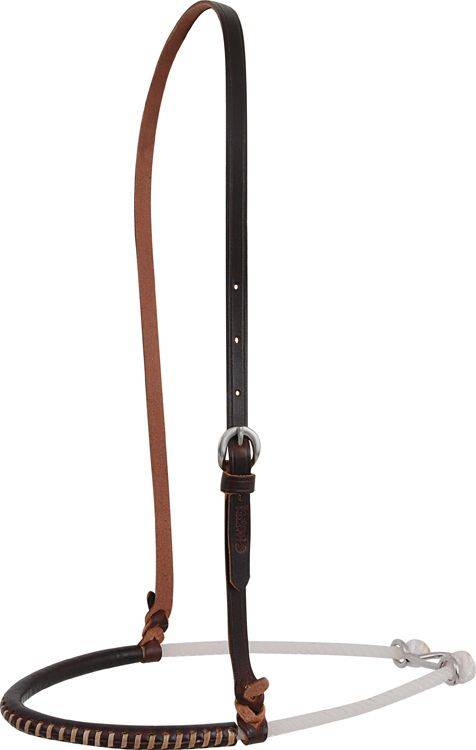 Martin Saddlery Single Rope Chocolate Noseband