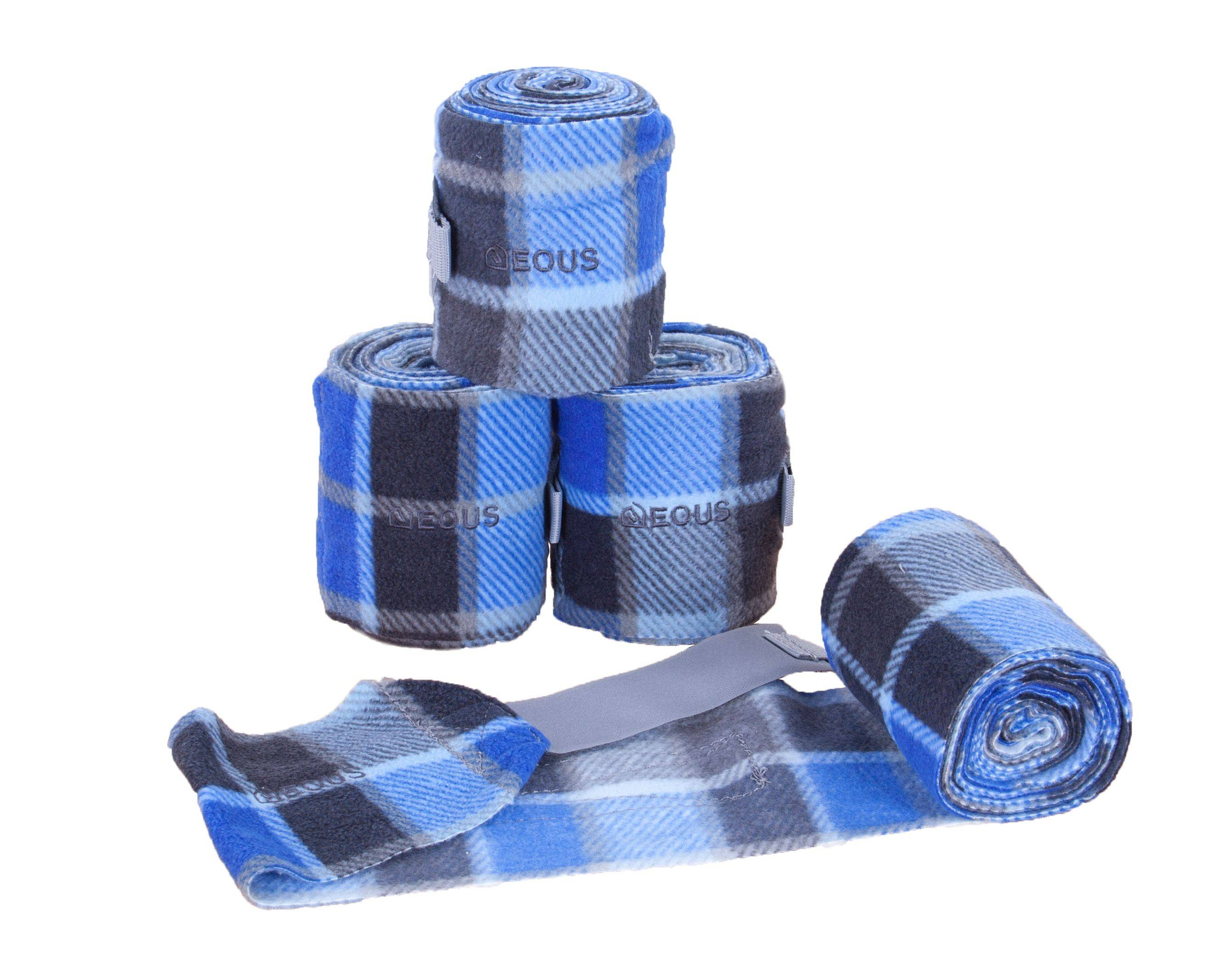 EOUS Plaid Polo Wraps