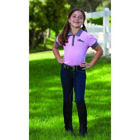 Romfh Kids Denim Euro Knee Patch Breech